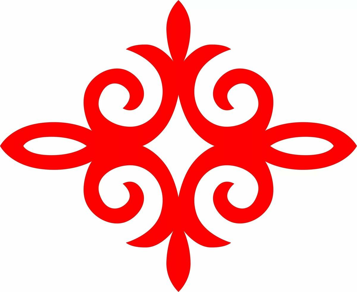 Картинки казахский орнамент, символ