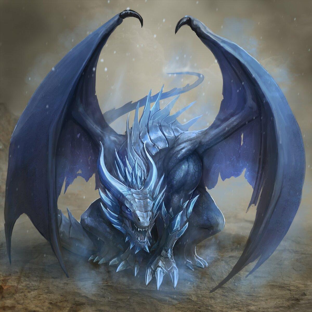 Дракон льда картинки