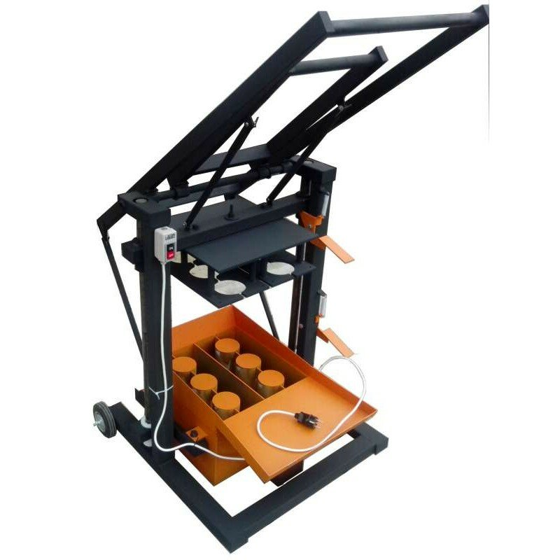 станки для производства шлакоблока
