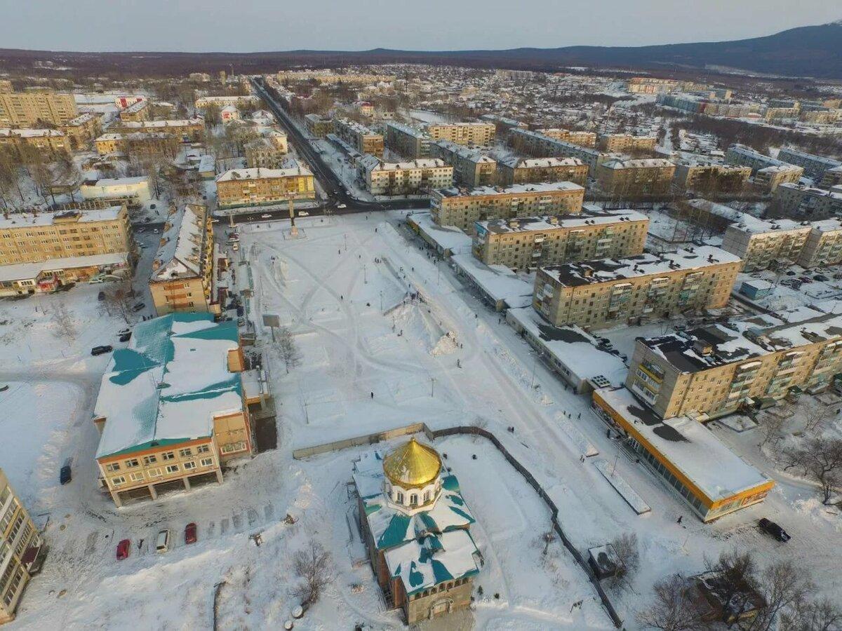 Картинка город советская гавань