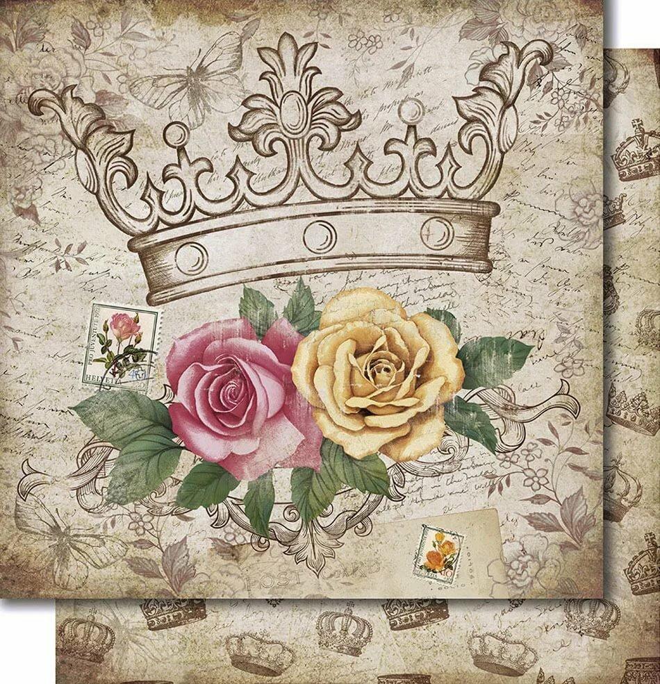 прекрасный картинки для декупажа в стиле винтаж розы ковальчук