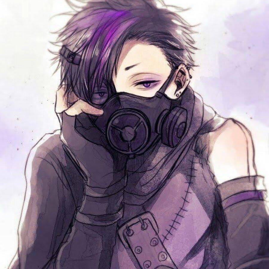 Аниме картинки парня в маске