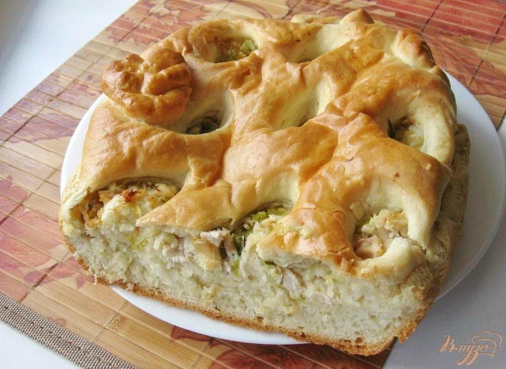 Несладкие открытые пироги рецепты с фото