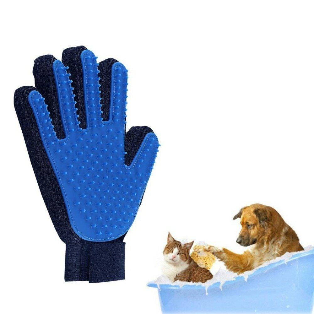 Перчатка для расчеcки шерсти животных в Новошахтинске