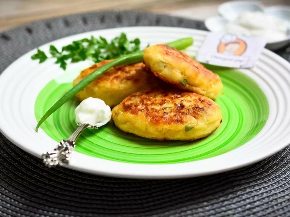 картофельные оладьи из пюре рецепт с фото место пока