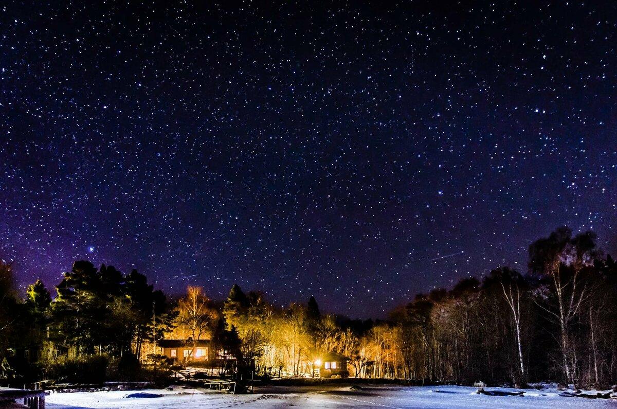 картинка ясное ночное небо снятия воспаления