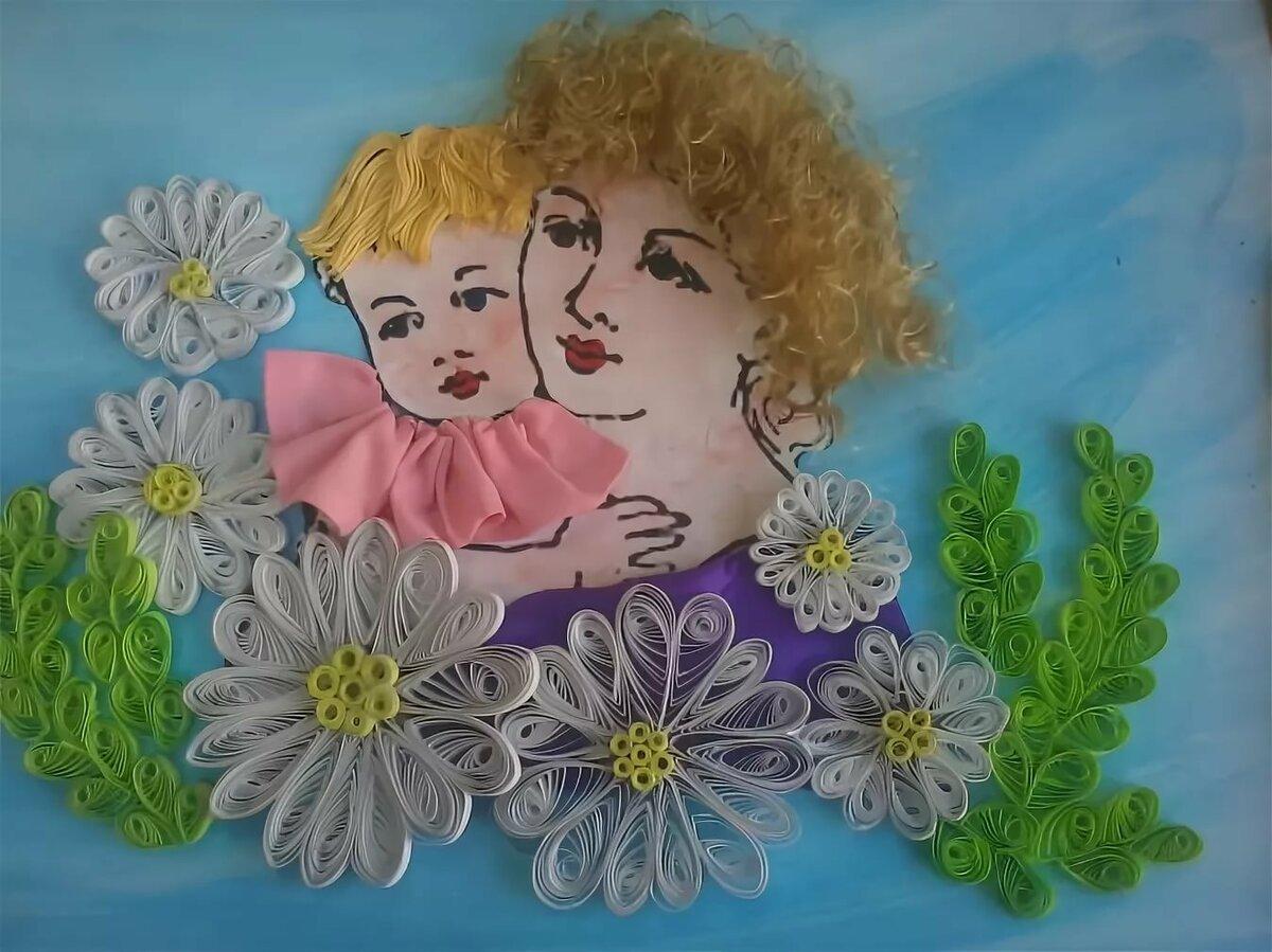 Картинки к дню матери поделки своими руками