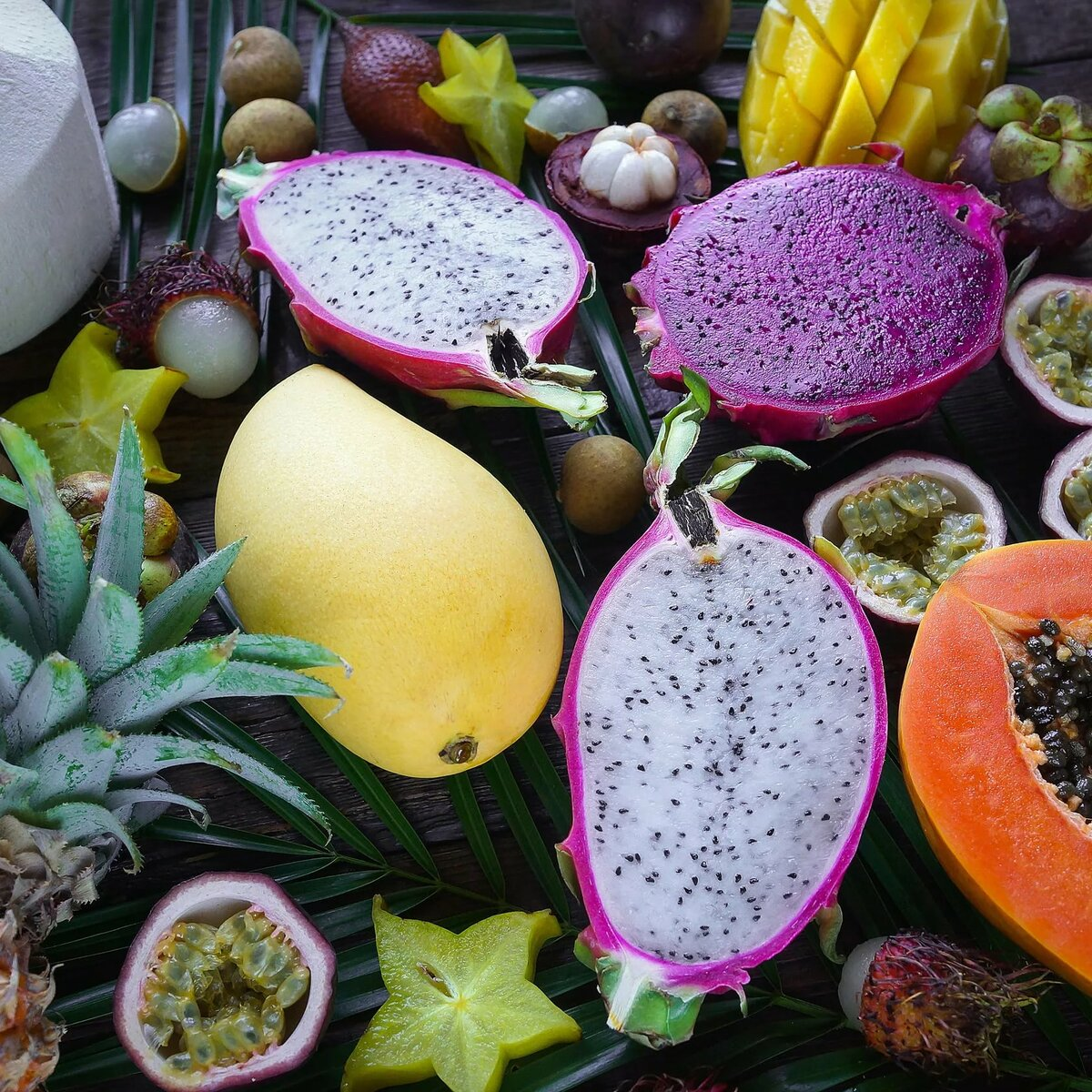 названия экзотических фруктов с картинками и названиями свадьба