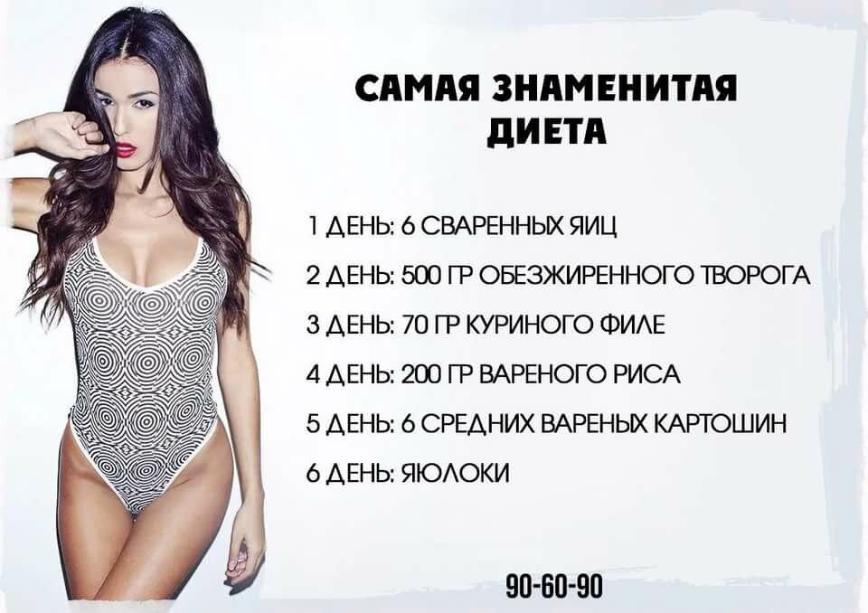 Какая Диета Действенна. ТОП-10 самых популярных диет