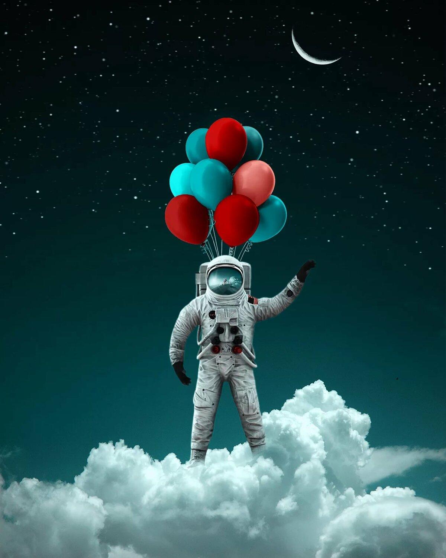 картинки космоса и планет и космонавтов сумочки