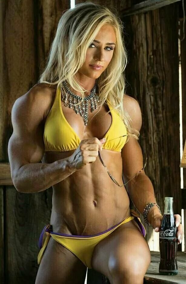 Busty female fitness naked sexy