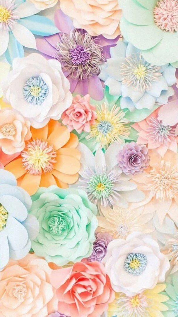 Цветы картинки пастельных тонов