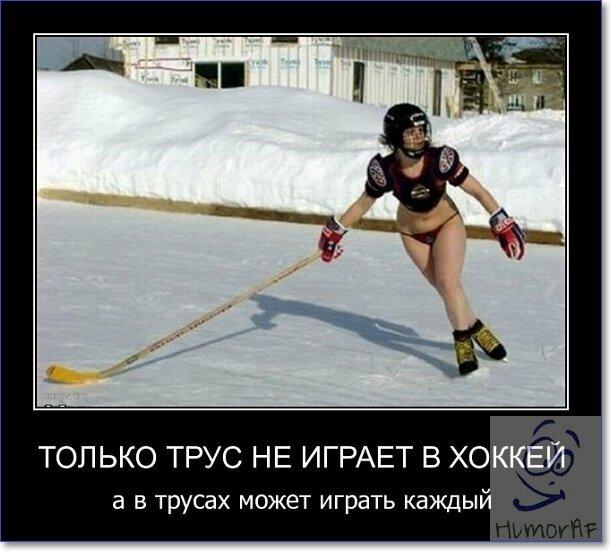 смешные демотиваторы про хоккей