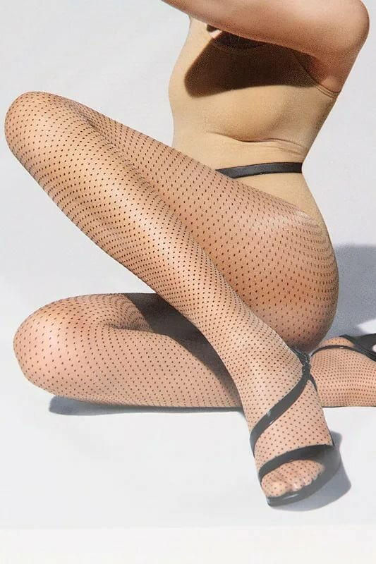 Lilly in wolford beige pantyhose video guys