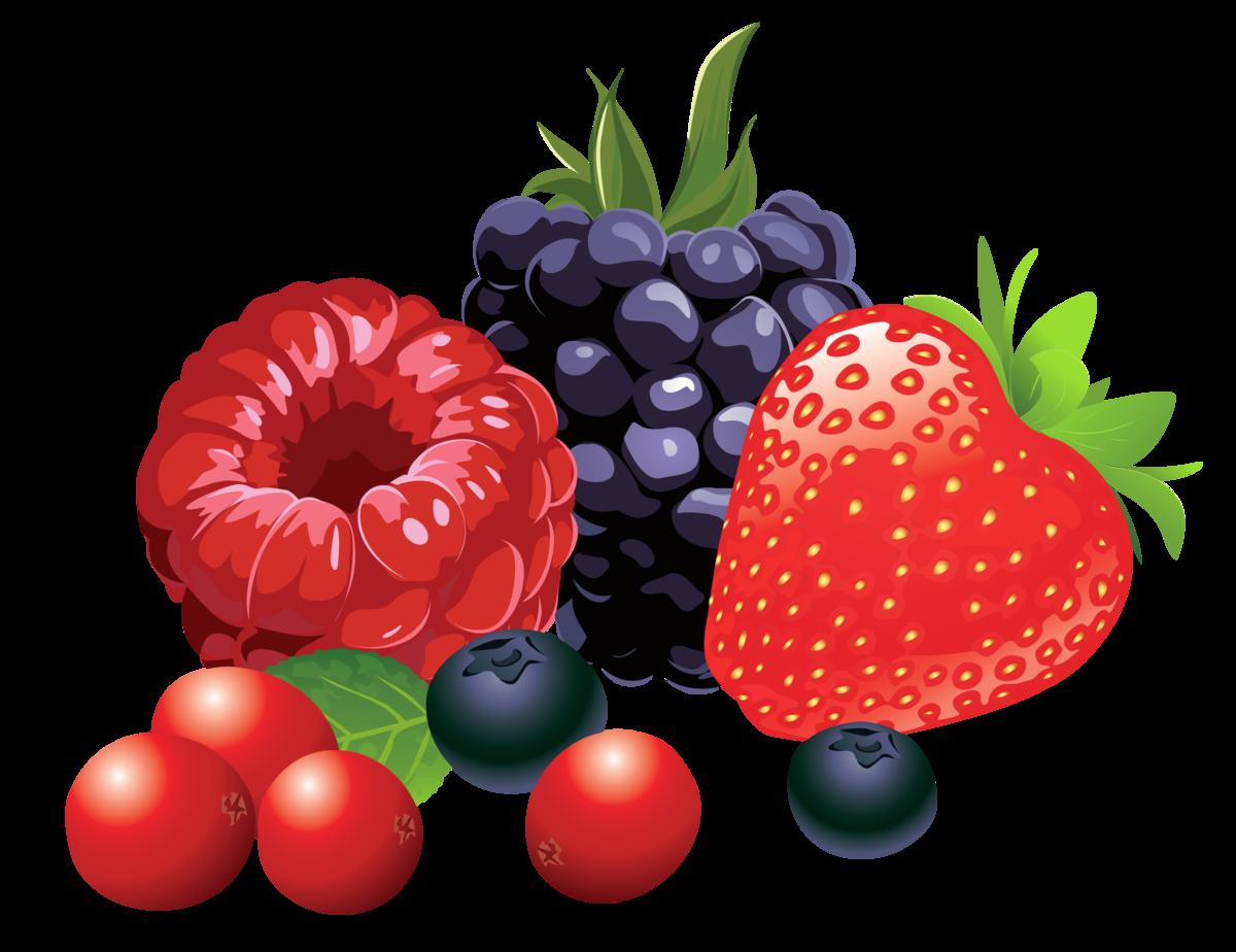 Мультяшные картинки ягод