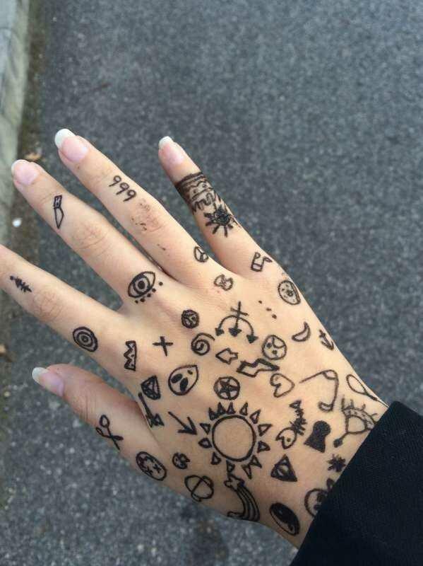 Прикольные добрым, прикольные рисунки на руках маркером