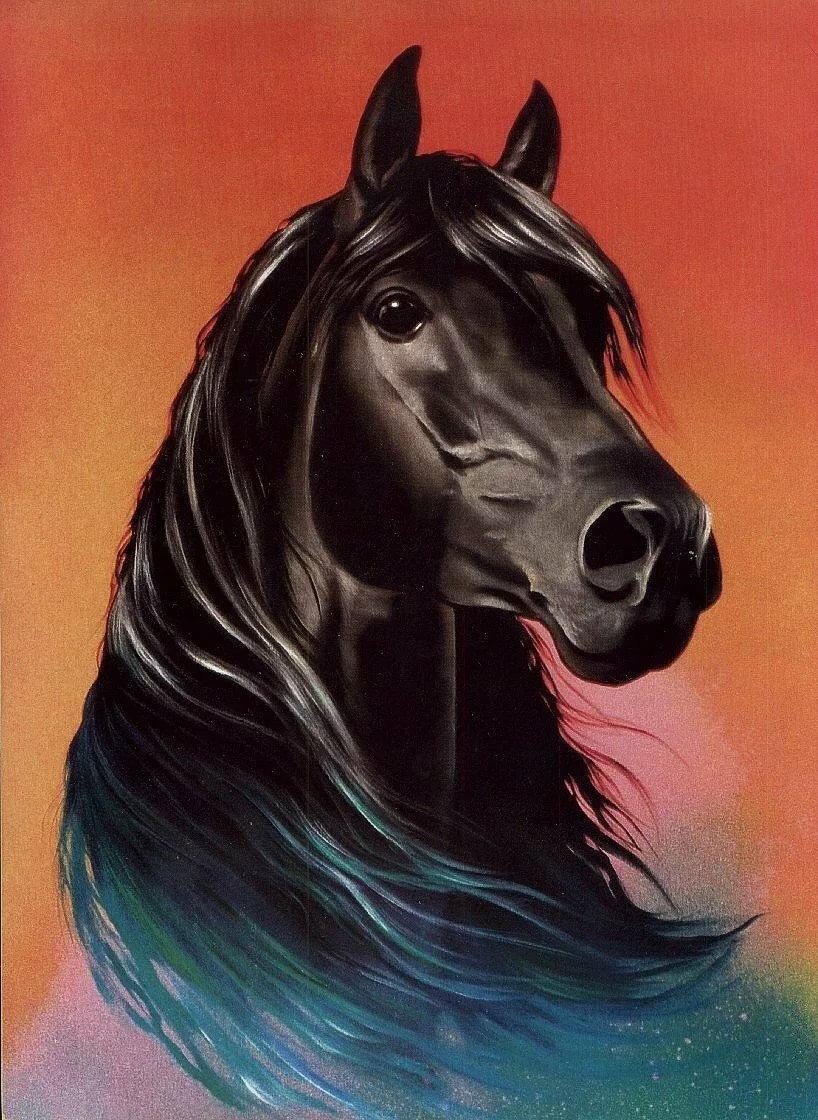 еще рисунки с лошадьми красивые печать фото самаре