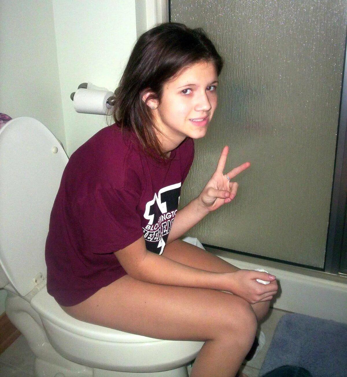 Teen Peeing