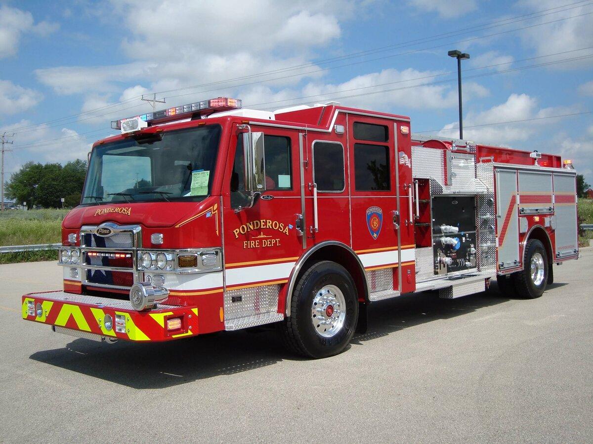 фото больших пожарных машин