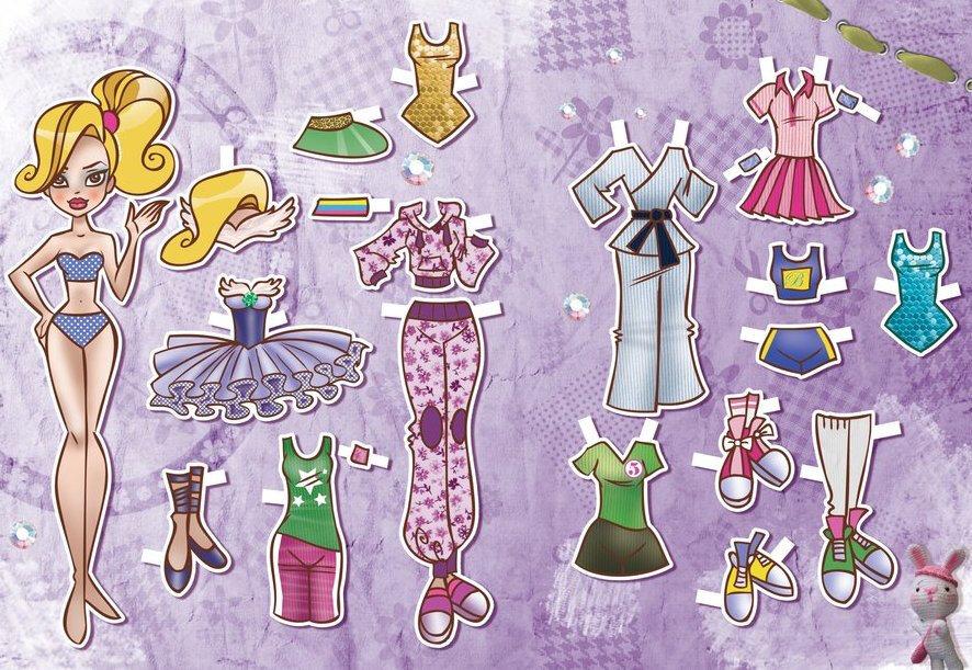Одевалка с картинкой