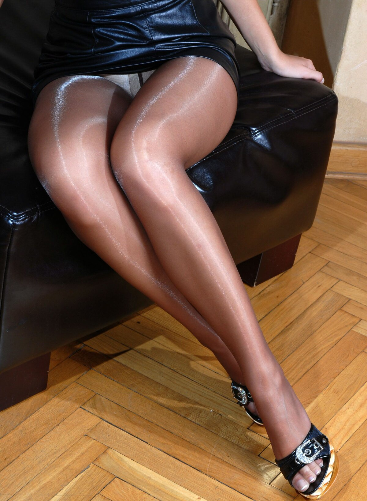Nylons pantyhose and legs indian girl