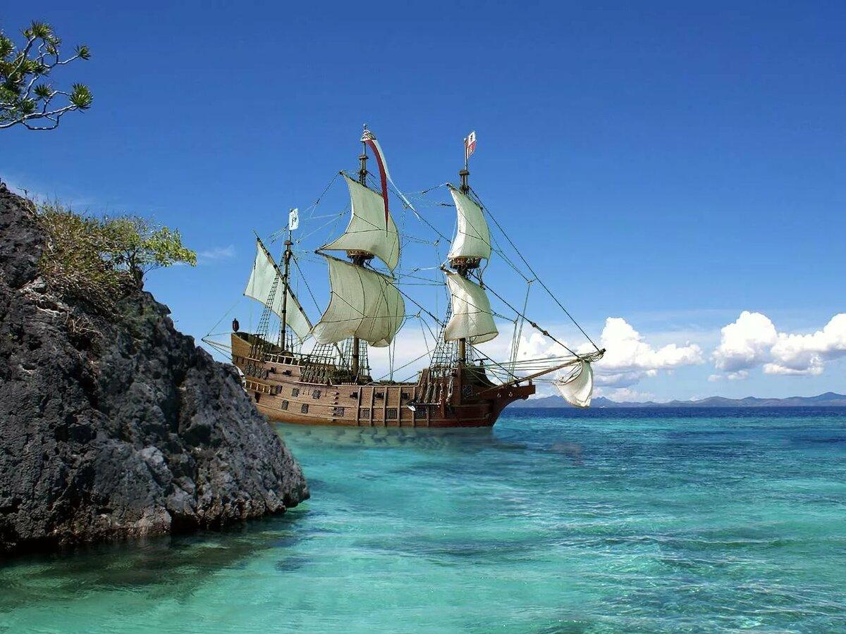 фото парусников в тропиках дадут возможность качественно
