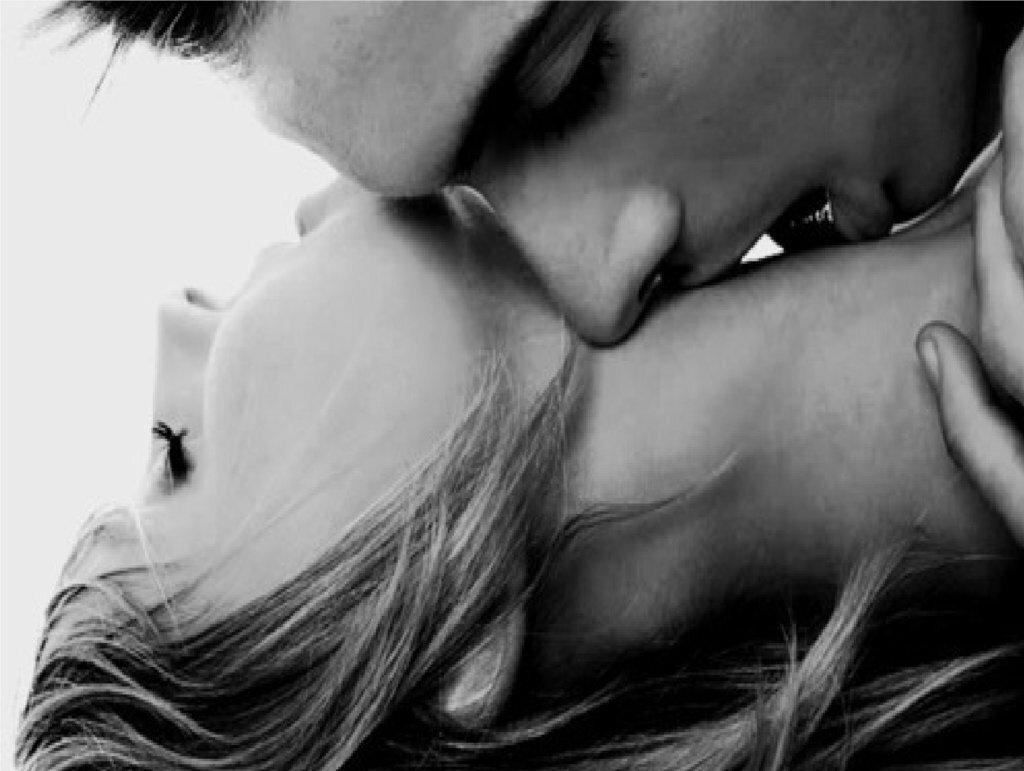 Картинки с поцелуем в шею и надписью