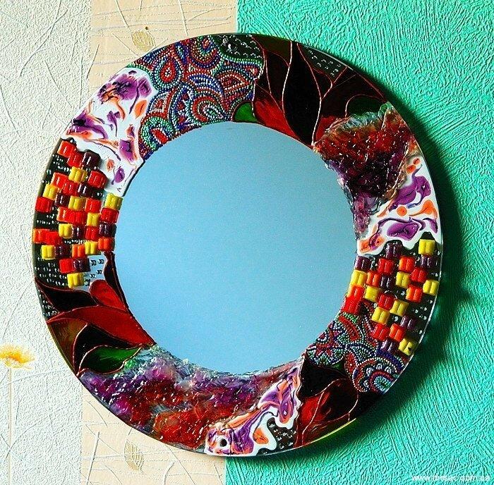 декорируем зеркало картинки минчанки