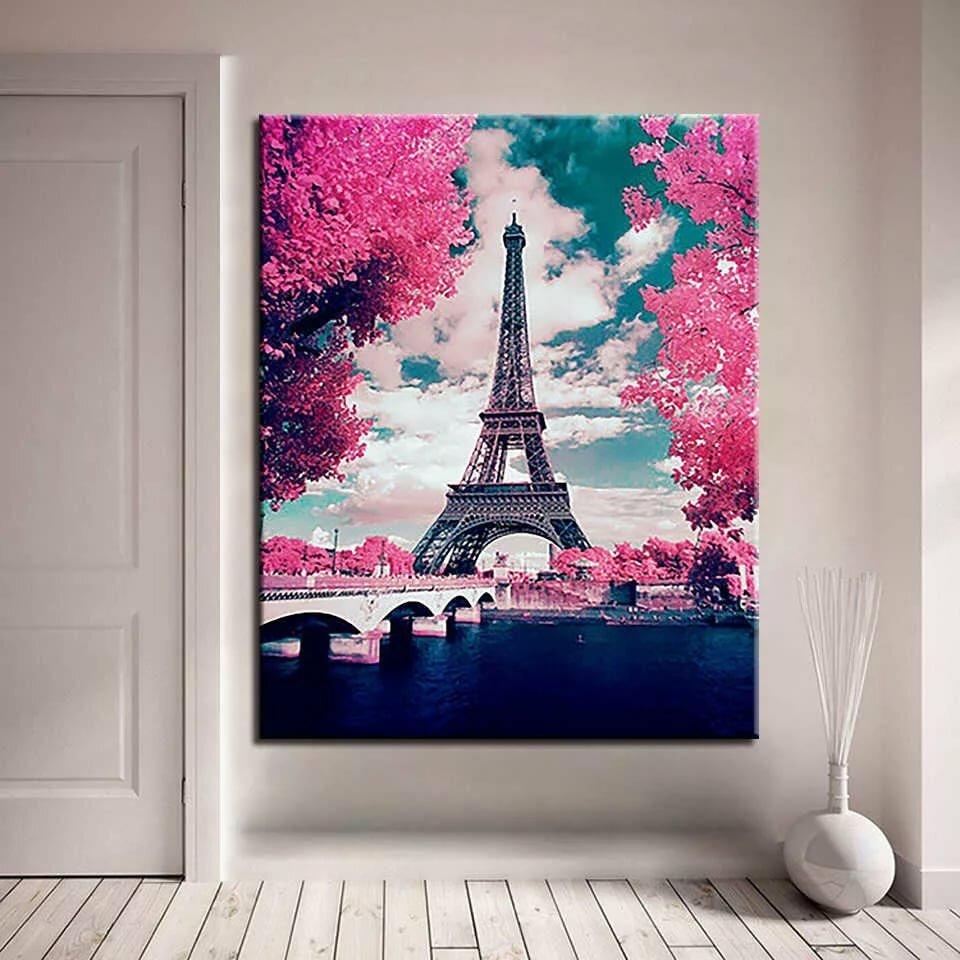 Постер с парижем