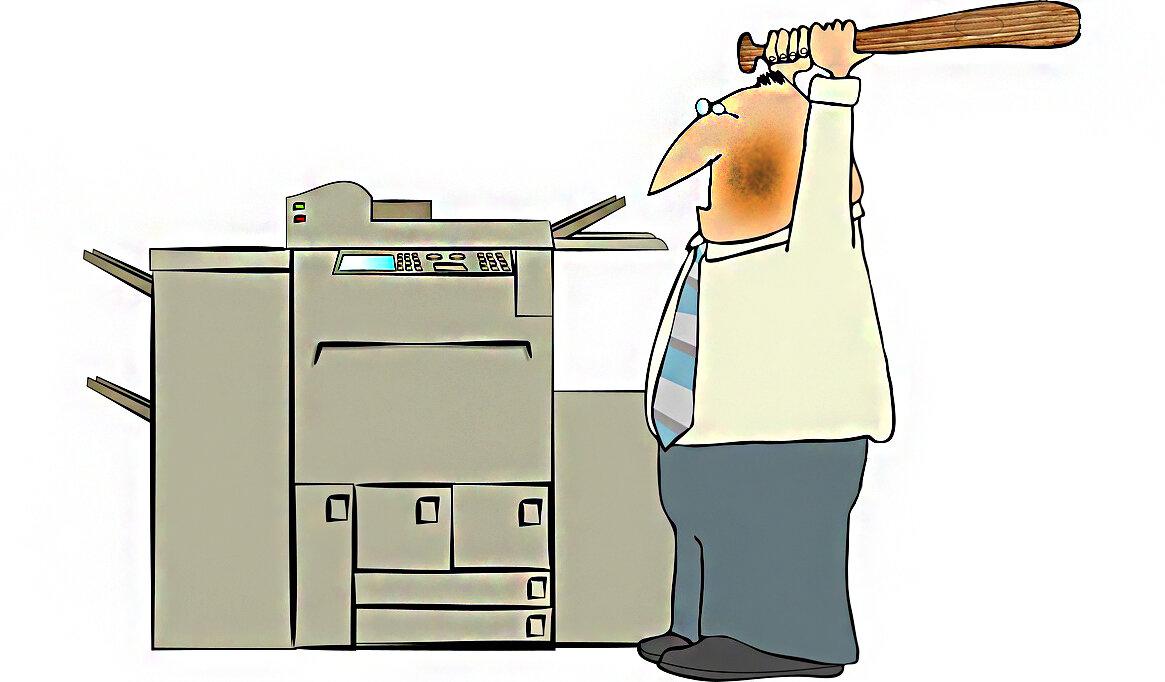 картинки принтер сломан вовсе считал