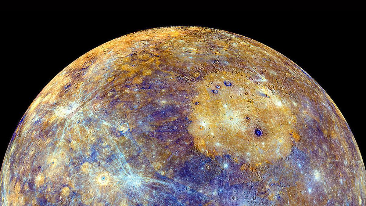 Фото на обои планеты меркурий