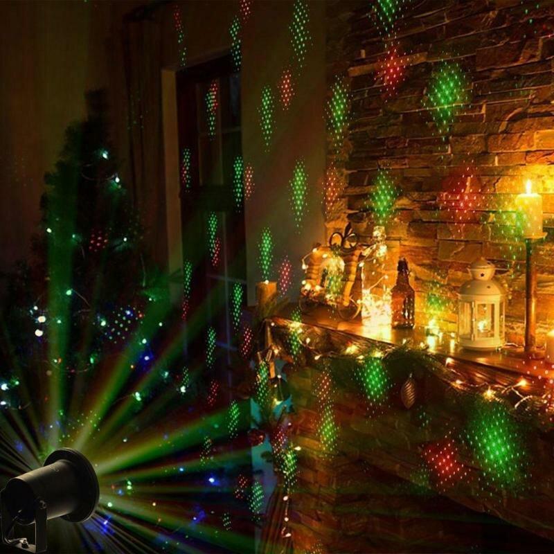 Лазерный проектор для Рождества в Архангельске