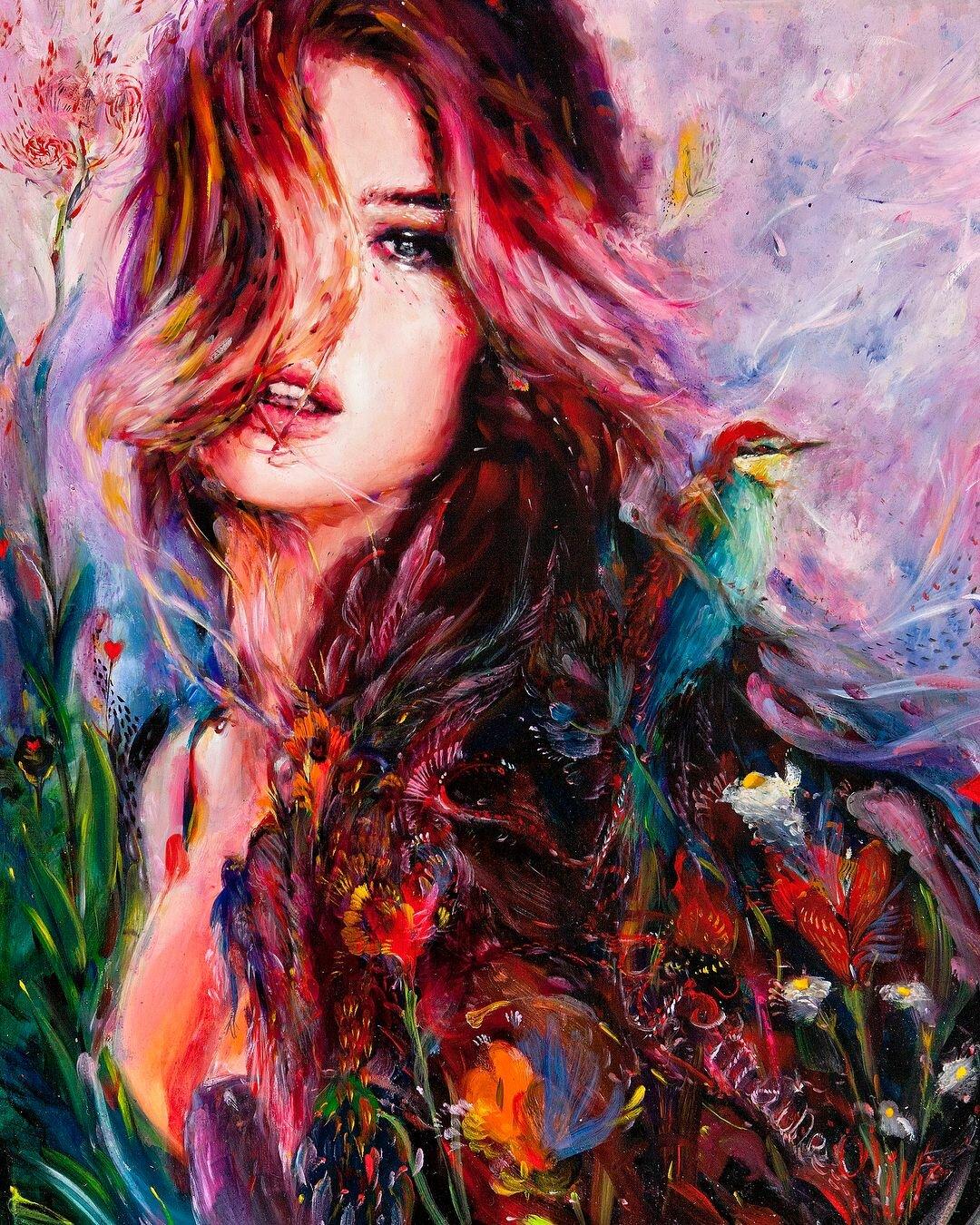 Яркие картинки арт