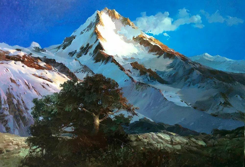 рисуем горы фото медицинской практике