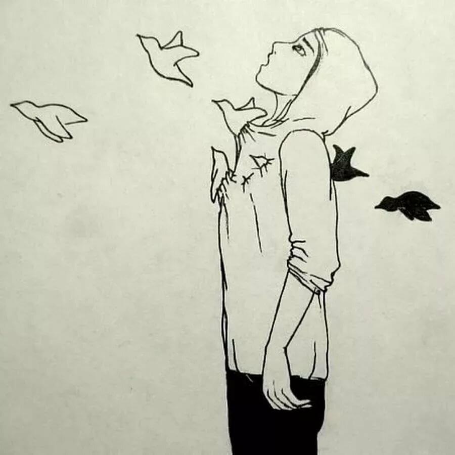 Рисунки душа человека