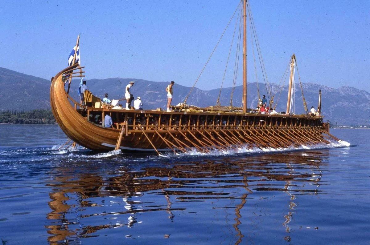 Древние лодки картинки