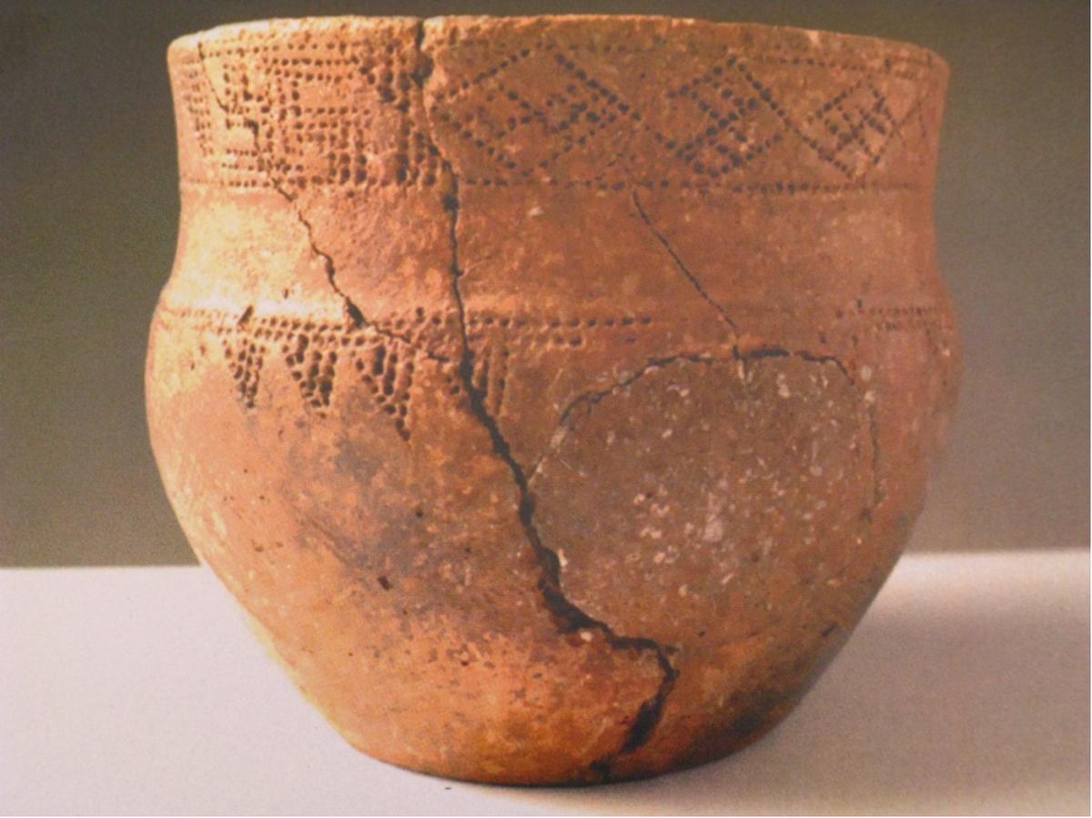 Картинки древних горшков