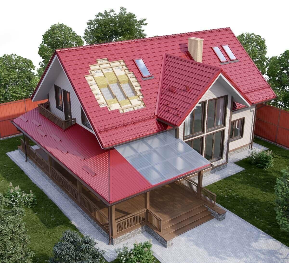 крыша для загородного дома в картинках паркетной доски инженерной