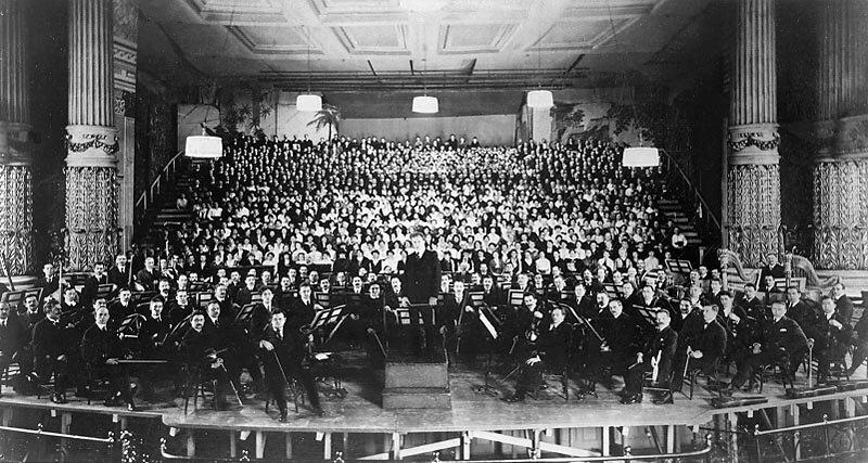 12 сентября 1910 года вМюнхене впервые прозвучала «Симфония тысячи» Густава Малера