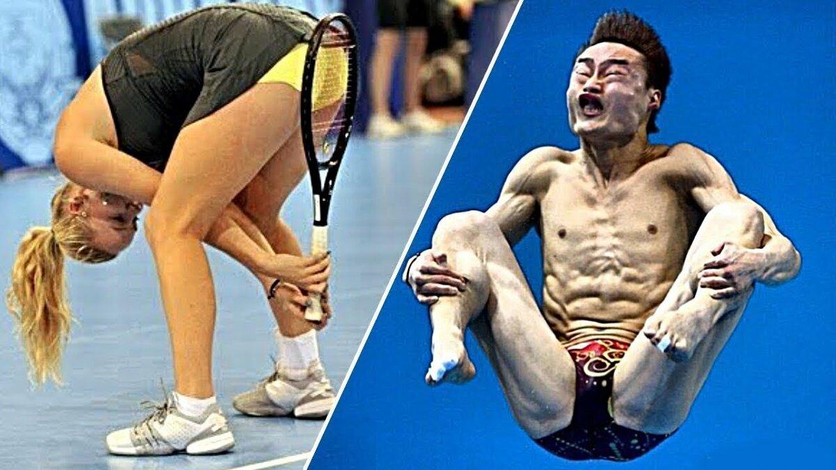 самые смешные курьезы в спорте фото