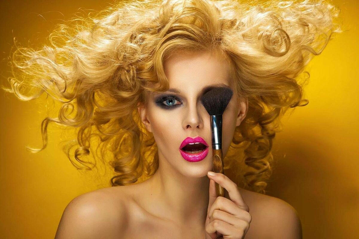 Прикольные картинки с косметикой