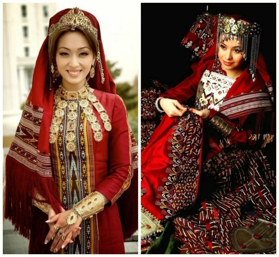 предлагаю приготовить поздравление со свадьбой туркменской вот
