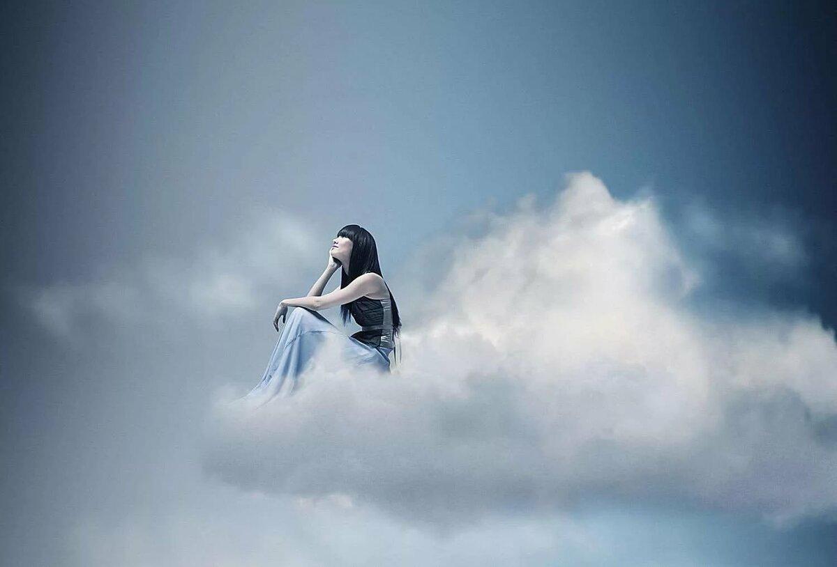 противном человек в облаках фото линии мамы все