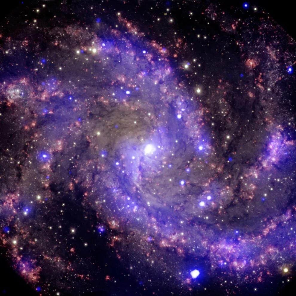 Днем, картинки галактика