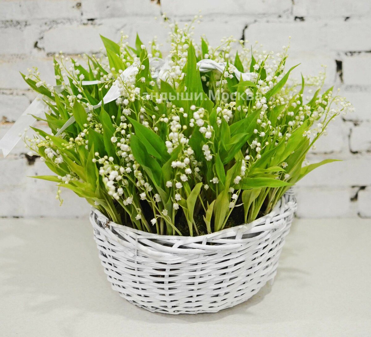 Цветы, купить букет из ландышей в москве