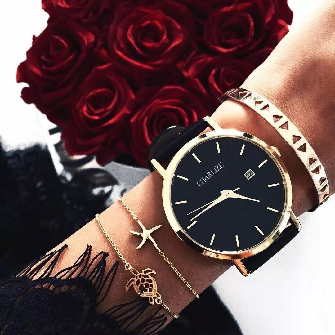 Красивые часы для девушек картинки