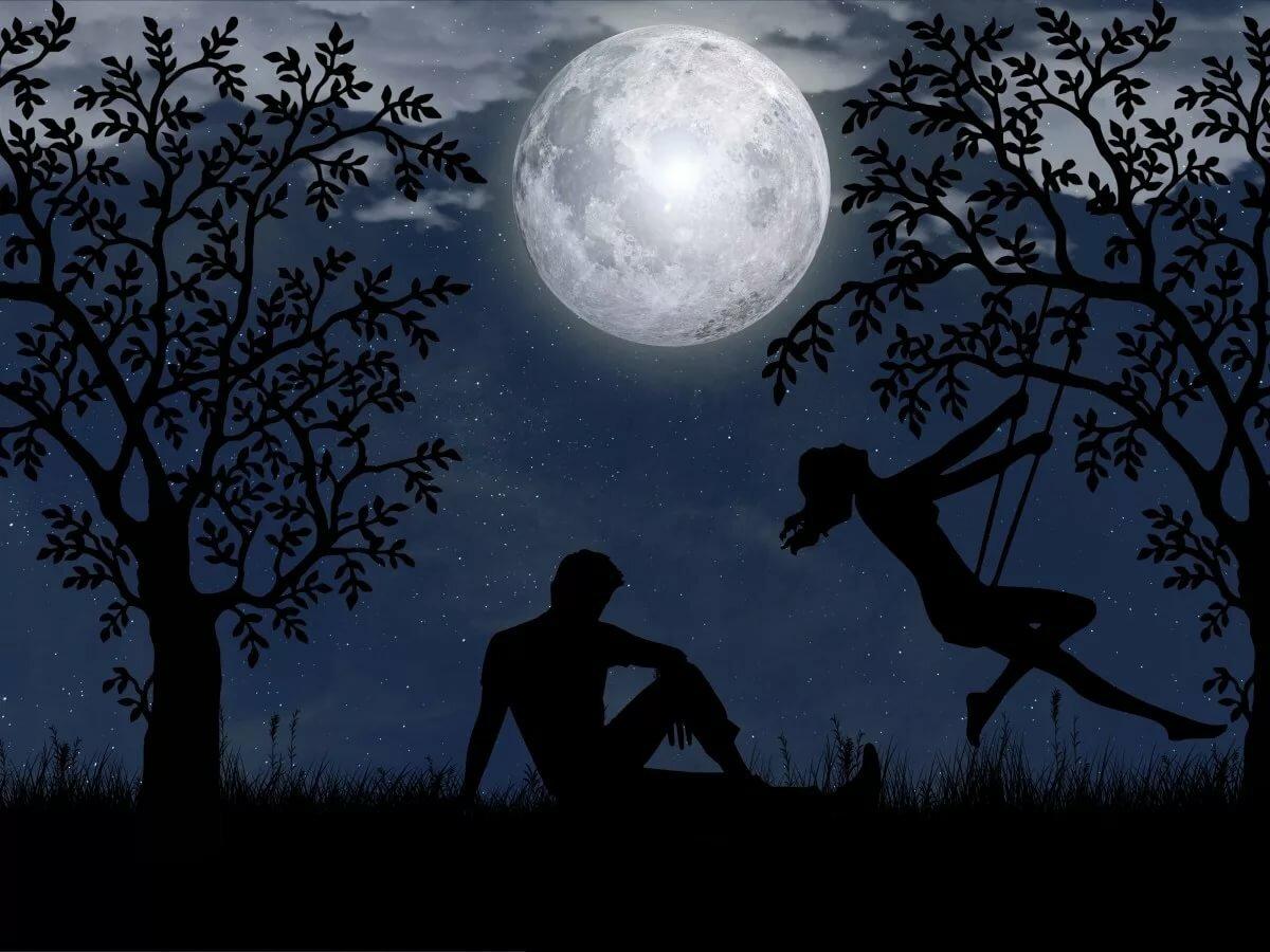 предусматривается парень луна цветы картинки вдохновляют