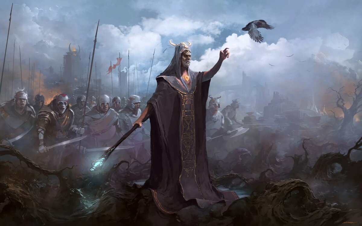 Фэнтези воины маги картинки
