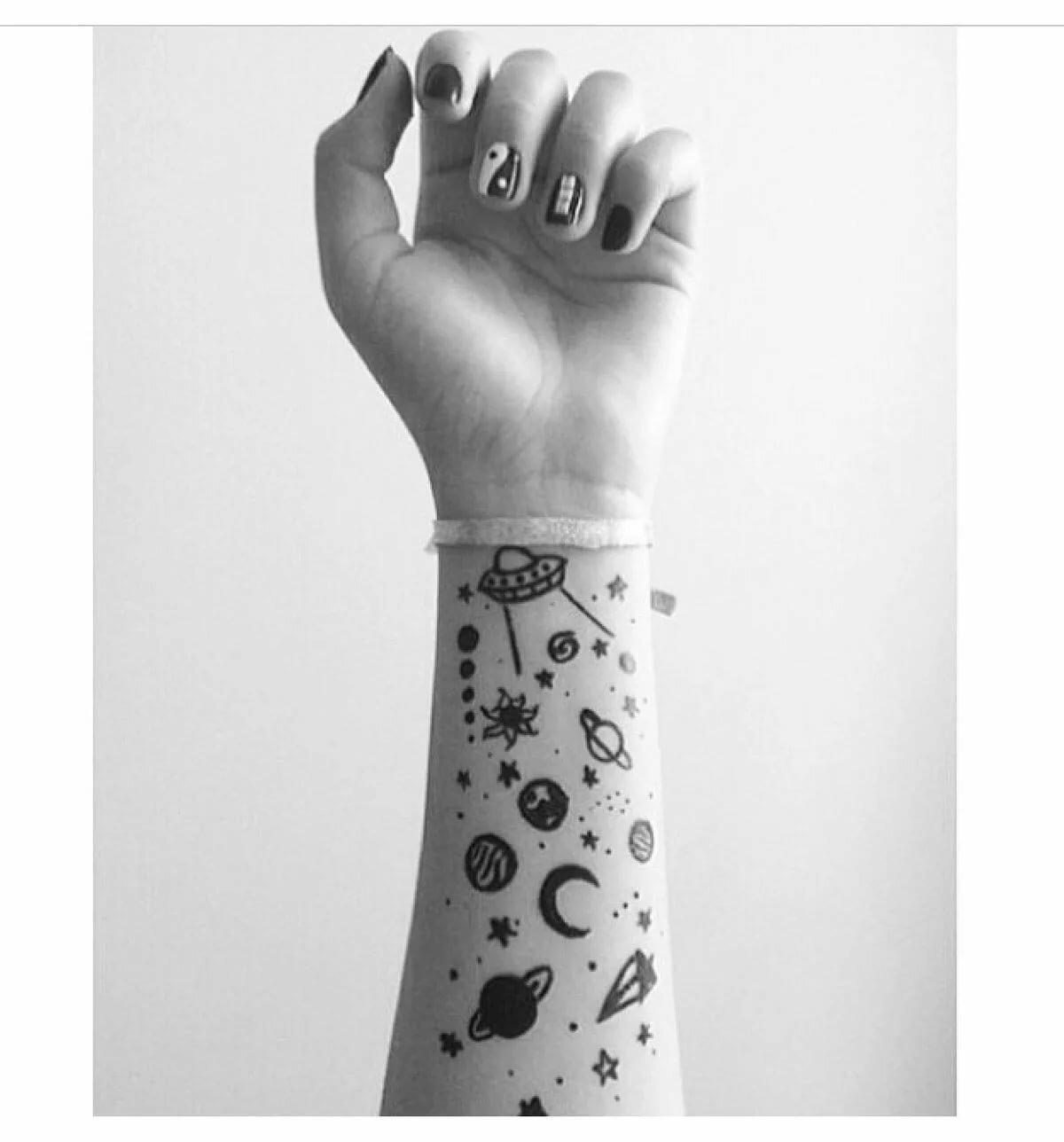 решила картинки нарисованы ручкой на руке вам раз доводилось