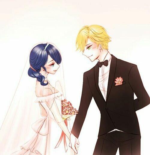 картинки эдриан и маринет на свадьбе украшение состоит